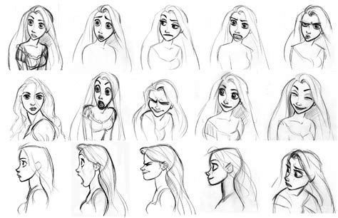 disney sketches images rapunzel sketch hd wallpaper and