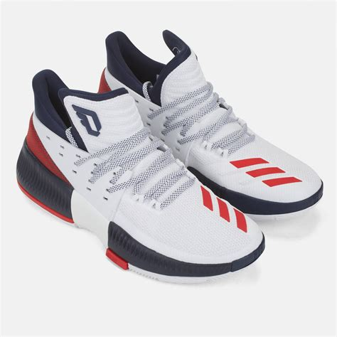 3 basketball shoes shop white adidas dame 3 basketball shoe for mens by