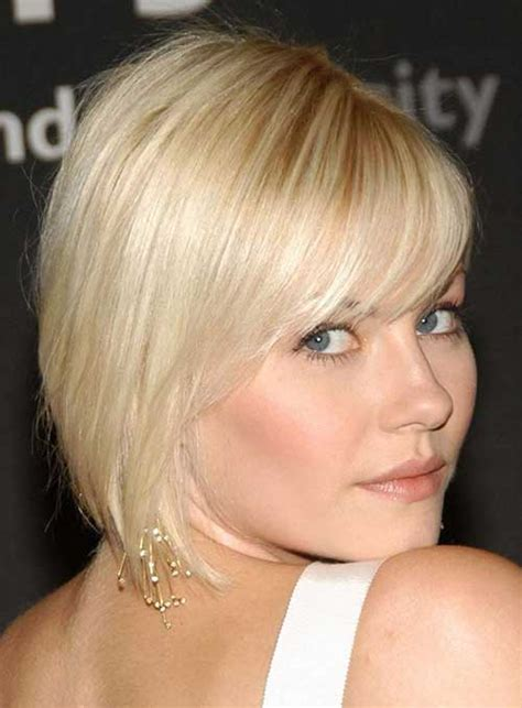 hairstyles for fine hair bangs short hairstyles with bangs for fine hair the best short
