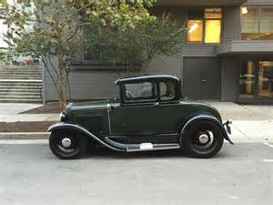 1931 ford model a coupe rod for