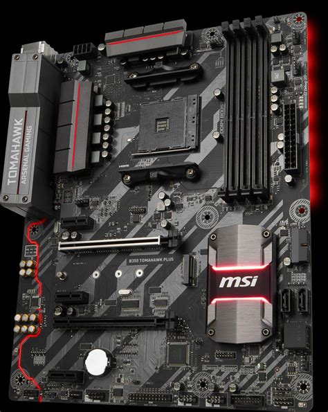 Ready Msi X370 Gaming Pro msi announces x399 gaming pro carbon x370 gaming m7 ack and b350 tomahawk plus techpowerup