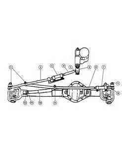 Dodge Ram Steering Linkage 2006 Dodge Ram 3500 Linkage Steering D1 8