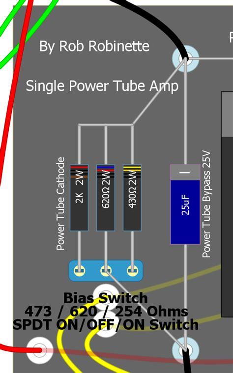 bias resistor wattage trim pot for bias on a cred turret board telecaster guitar forum