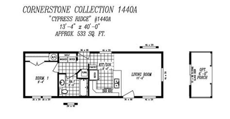 14x40 floor plans 14x40 mobile home mobile home catalog of floor plans