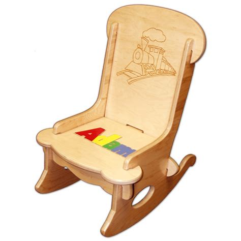 Toddler Rocking Chair With Name child s puzzle rocking chair damhorst toys puzzles inc store