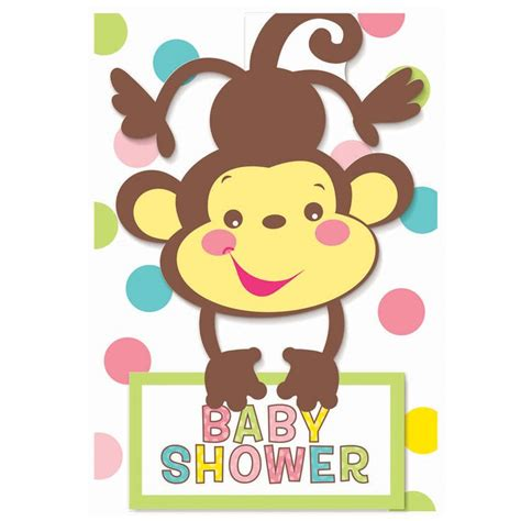 City Monkey Baby Shower Theme by Blank Baby Shower Clip Fisher Price Baby Shower