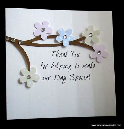 Thank You Card Handmade - handmade thank you card cards
