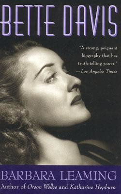 learn about bette davis biography bette davis a biography book by barbara leaming 6