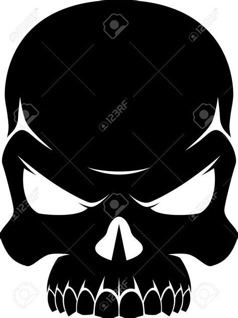 skull silhouette clip art 101 clip art