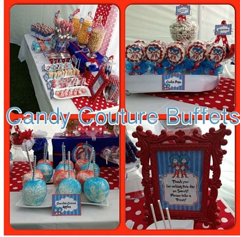 Thing 1 And Thing 2 Baby Shower Supplies by Thing 1 Thing 2 Baby Shower Ideas Photo 1 Of 5