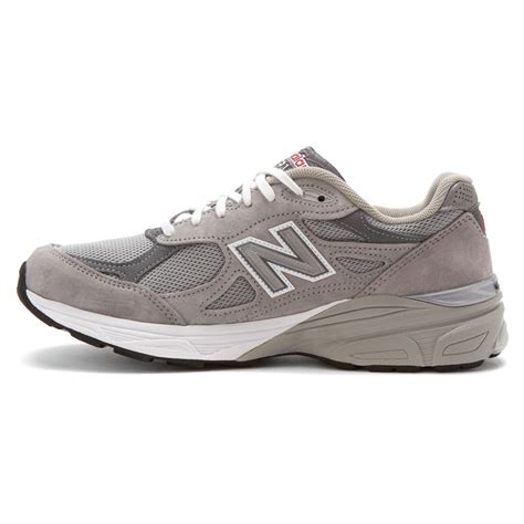 gray new balance sneakers lyst new balance w990v3 in gray