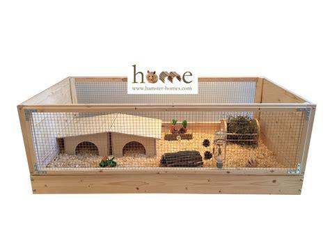 Custom Rabbit Hutch Guinea Pig Cages