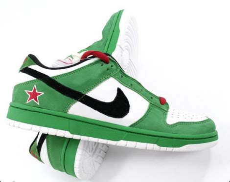 exclusive sneakers for sale nike sb dunk low heineken exclusive sneakers for sale
