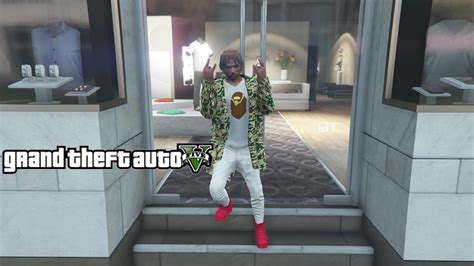 Dress Supreme Import bape and supreme on gta import export update new clothing