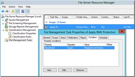 Configuring The Azure Rights Management Connector With A Windows Fci File Server Server As Built Document Template