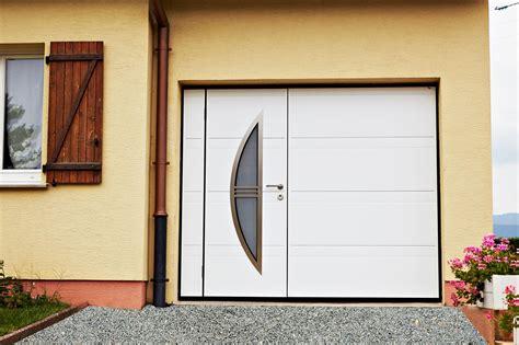 porte de garage basculante d bordante sans rails panneau