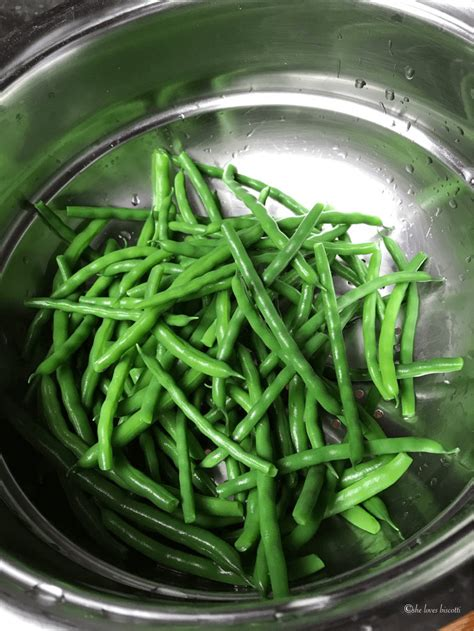 how to freeze garden fresh green beans she loves biscotti