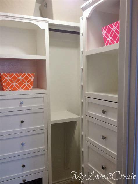 Closet Remodel Diy by Master Closet Makeover Reveal 2 Create