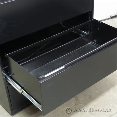 meridian lateral file cabinets meridian black 3 drawer lateral file cabinet locking