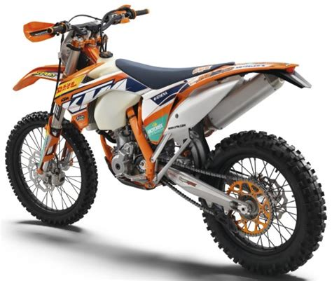 ktm factory dekor ktm exc f 350 factory edition 2015 orange