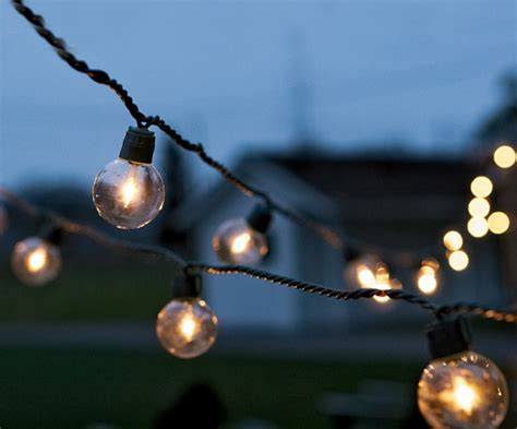 Outdoor Lights String Globe My Wedding Inspirations String Globe Lighting