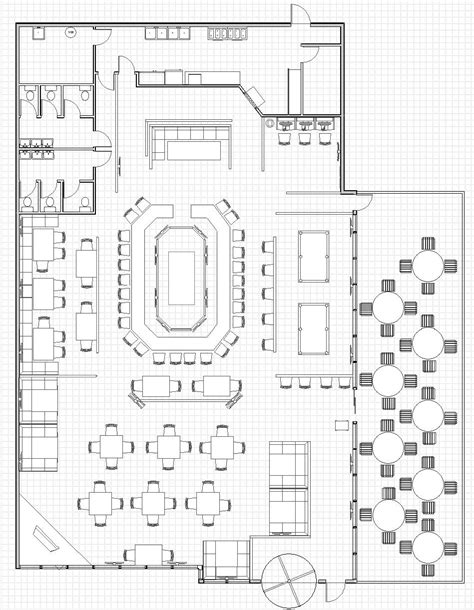 hotel bar layout restaurant floor plan plan pinterest restaurants