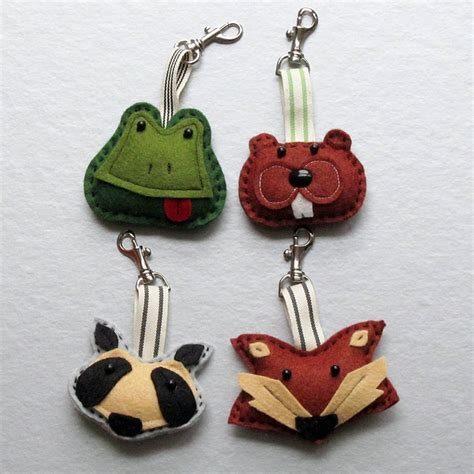 Handmade Keyrings - 844 best sewing gifts toys etc images on