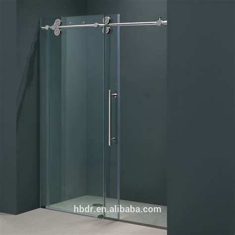 Hot Sell Self Cleaning Bathroom Sliding Shower Doors Glass Shower Doors Prices