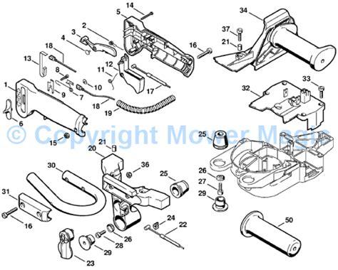 stihl fs 76 parts diagram stihl fs 45 parts list diagram