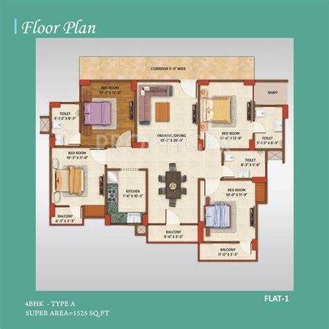group home floor plans 1525 sq ft 4 bhk 3t apartment for sale in avj group home