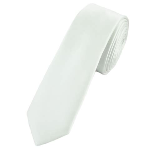 plain white tie from ties planet uk