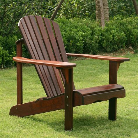 Adirondack Chair by Belham Living Richmond Curveback Shorea Wood Deluxe