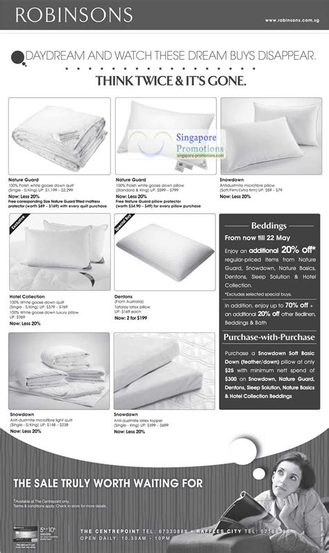 Dentons Pillow Singapore - 17 may bedding nature guard snowdown hotel collection