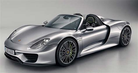 electric porsche 918 electric cars report porsche 918 spyder unveiled in