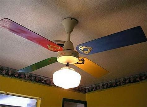 Cool Ceiling Fan Ideas by 22 Creative Recycling And Interior Decorating Ideas For