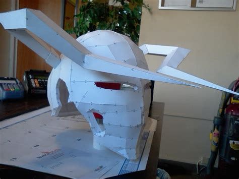 Ichigo Hollow Mask Papercraft - ichigo hollow mask wip by kaufmanp92eb on deviantart