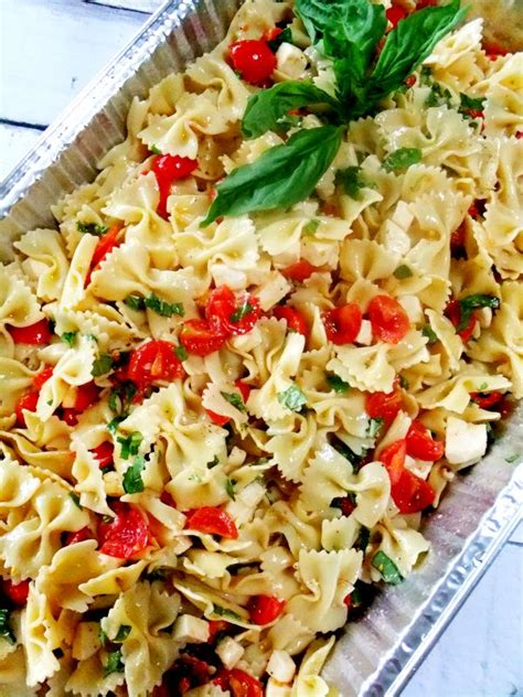 pasta salad ideas picnic food ideas for a crowd caprese pasta salad