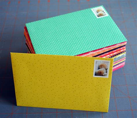 How To Make Envelopes Out Of Scrapbook Paper - diy scrapbook paper envelopes scrapbook paper envelopes
