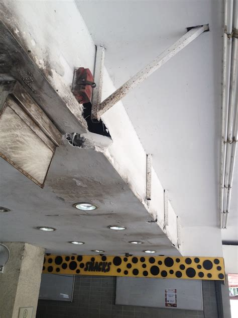 How To Repair Concrete Ceiling by Repair Of Spalling Concrete Singapore Hong Yie Fibre