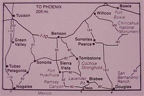 bisbee az map map and directions bisbee inn hotel lamore
