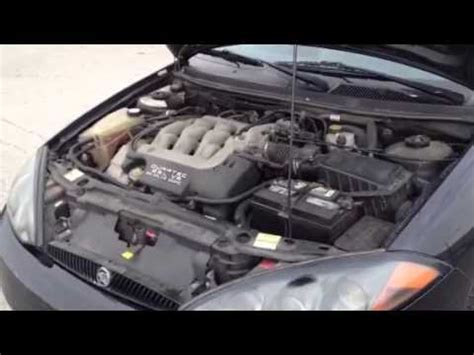 how do cars engines work 2001 mercury cougar electronic toll collection 1999 mercury cougar 2 5l v6 efi 2 door coupe lot 120 engine starting youtube