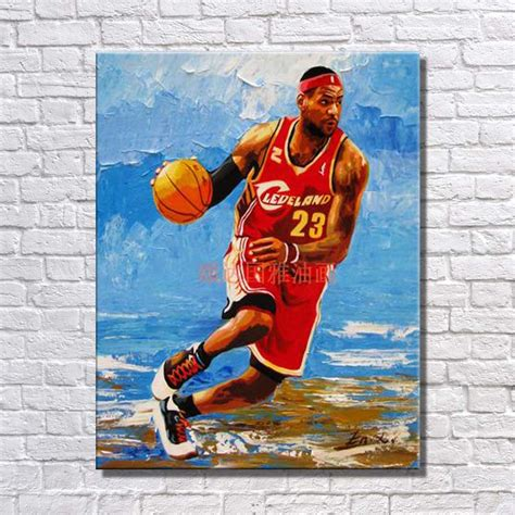 basketball pop art paintings online kaufen gro 223 handel famous beach artists aus china