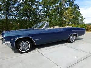 1965 Chevrolet Impala Ss Convertible For Sale 1965 Chevrolet Impala Ss Convertible For Sale