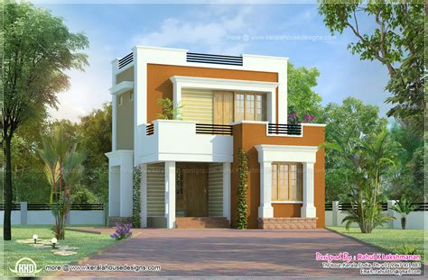 small house design in 1011 square kerala home