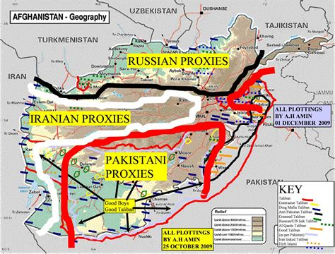 map of soviet afghan war conflict in afghanistan map