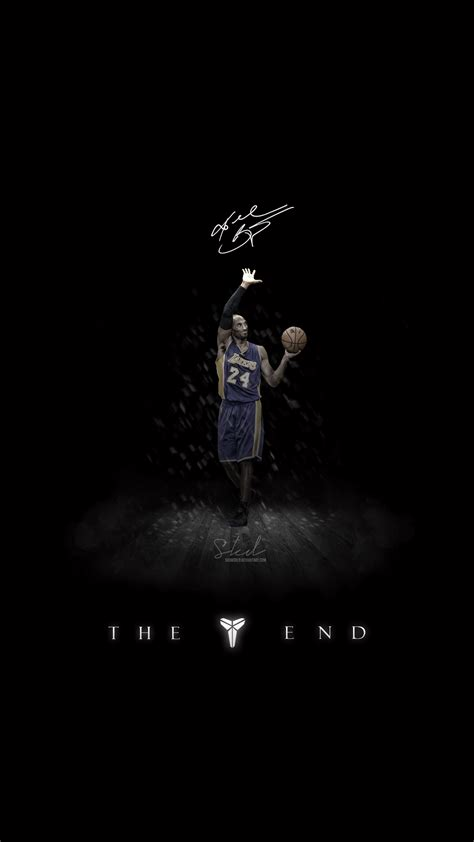 wallpaper iphone 6 kobe kobe the end of mamba show wallpaper for iphone by