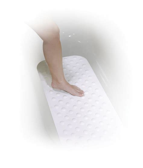 large bathroom mats amazon com drive medical bathtub mat white large