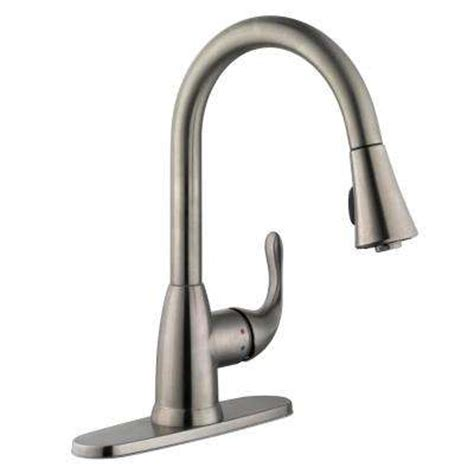 homedepot kitchen faucet pull down faucets kitchen faucets the home depot