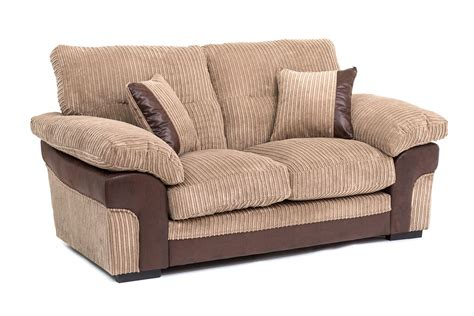 Samson Corner 2 3 Seater Cord Chenille Fabric Sofa