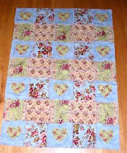 Easy Rag Quilt Patterns by Ragged Hearts An Easy Rag Quilt Pattern
